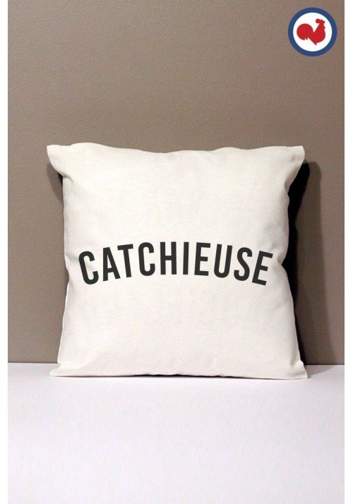 Catchieuse Coussin Made in France Bio