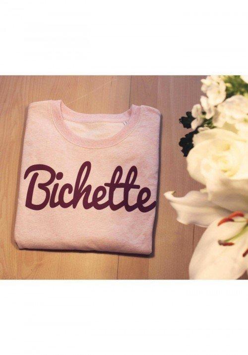 Bichette framboise - Sweat Femme - coupe été