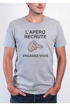 Apero Recrute - Tshirt Homme