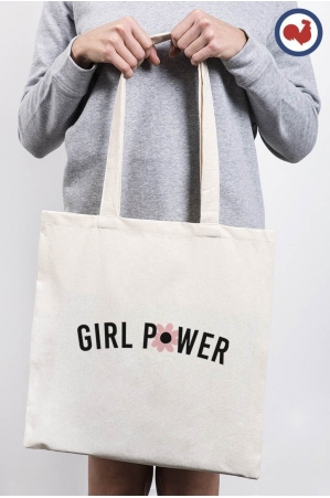 Girl Power - ToteBag made in France
