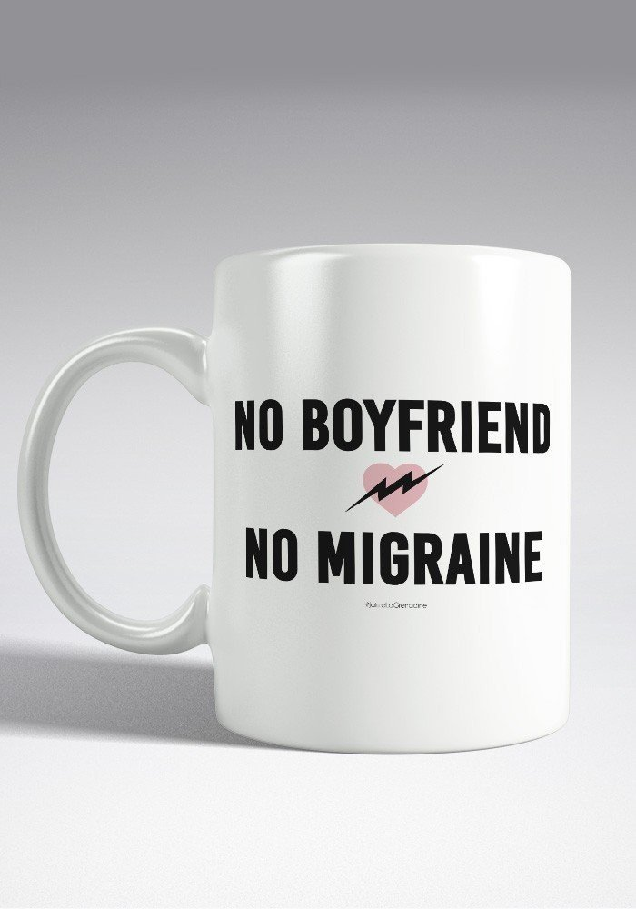No Boyfriend No Migraine - Mug