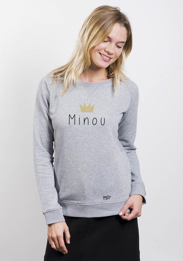 Minou - sweat Femme