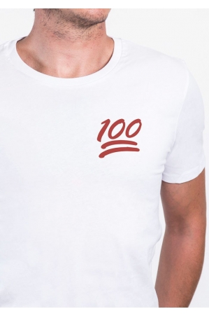 100  - Tshirt homme col rond