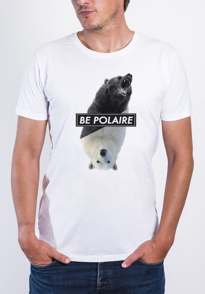 Be Polaire - Tshirt Col rond Homme
