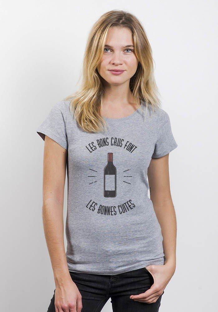 Les bonnes cuites T-shirt Femme Col Rond