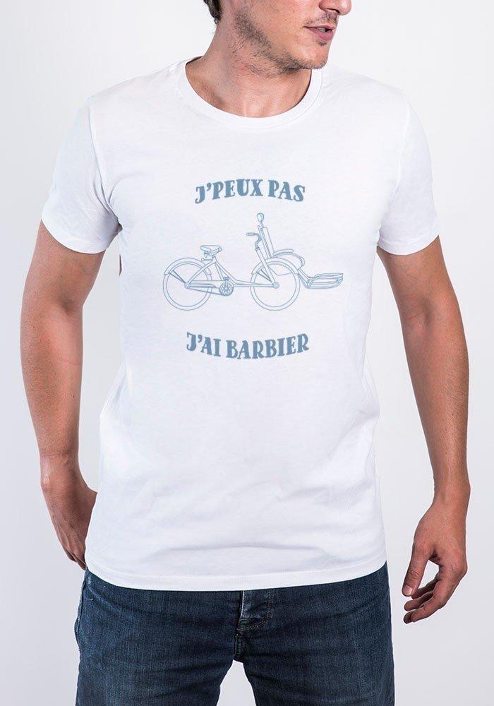 Je peux pas j'ai barbier - Tshirt Col Rond Homme