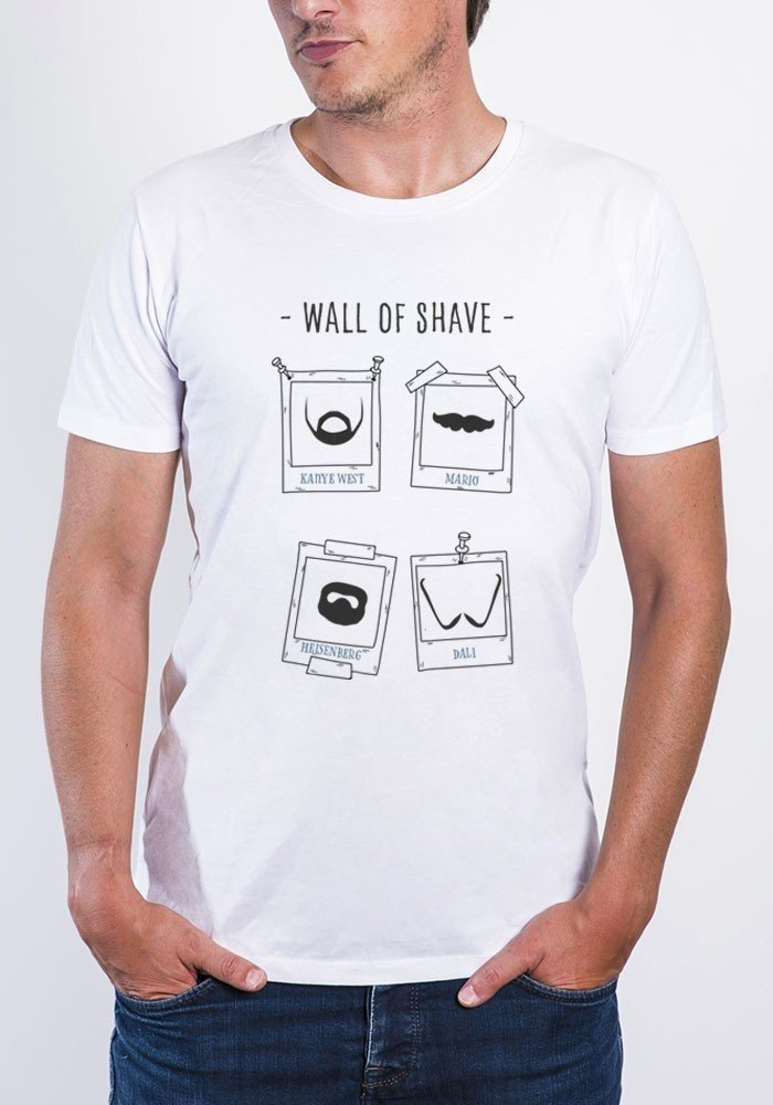Wall of shave - Tshirt Col Rond Homme