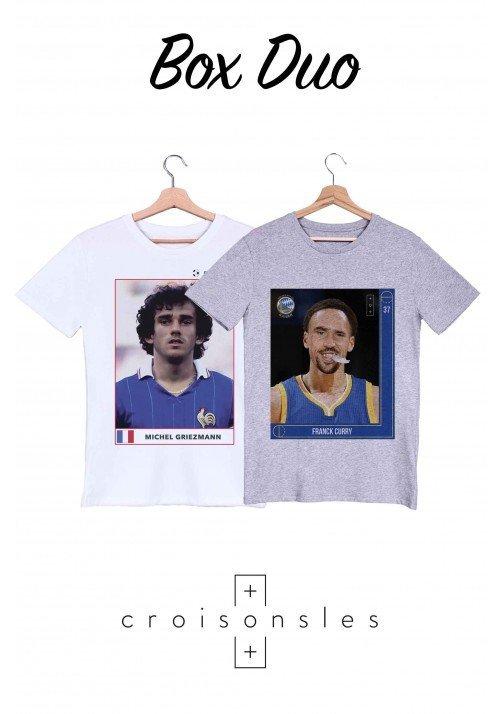 Box 2 T-shirts Croisons Les