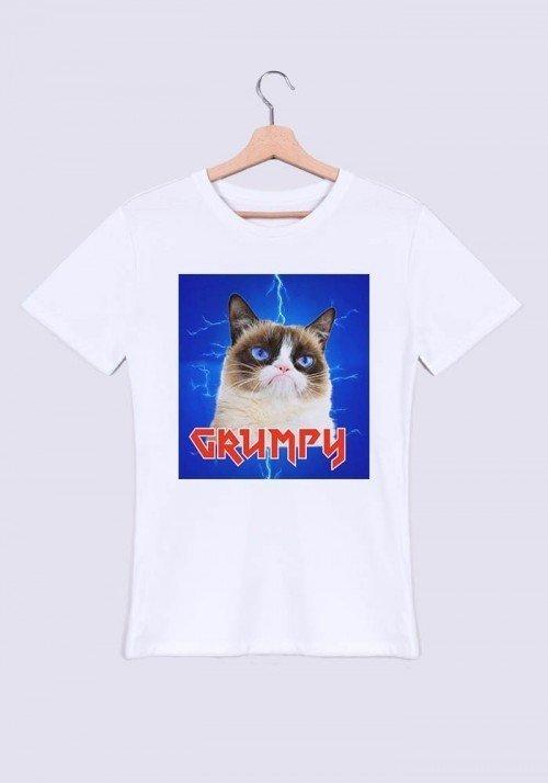 Grumpy metal - Tshirt Col rond Homme