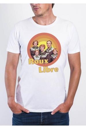 Roux Libre - T-shirt col rond Homme