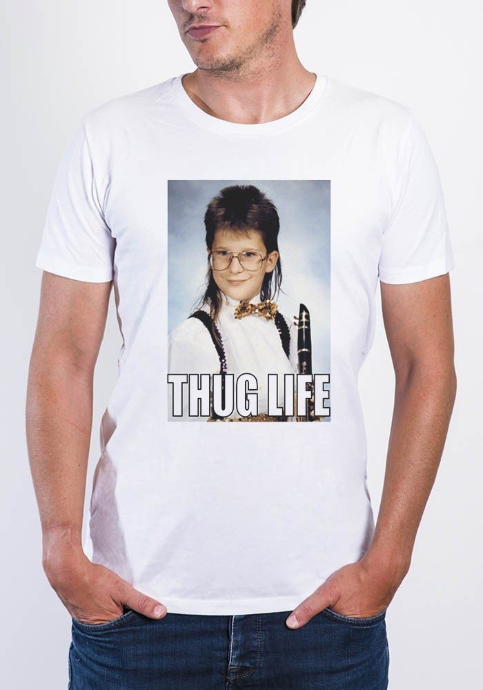 Thug  - T-shirt col rond Homme