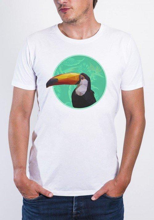 Toucan T-shirt Homme Col Rond
