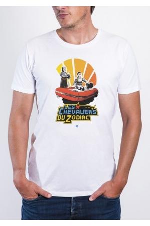 Le Zodiac T-shirt Homme Col Rond