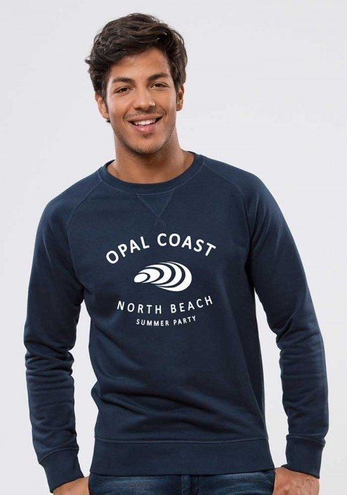 Opal coast Sweat Homme