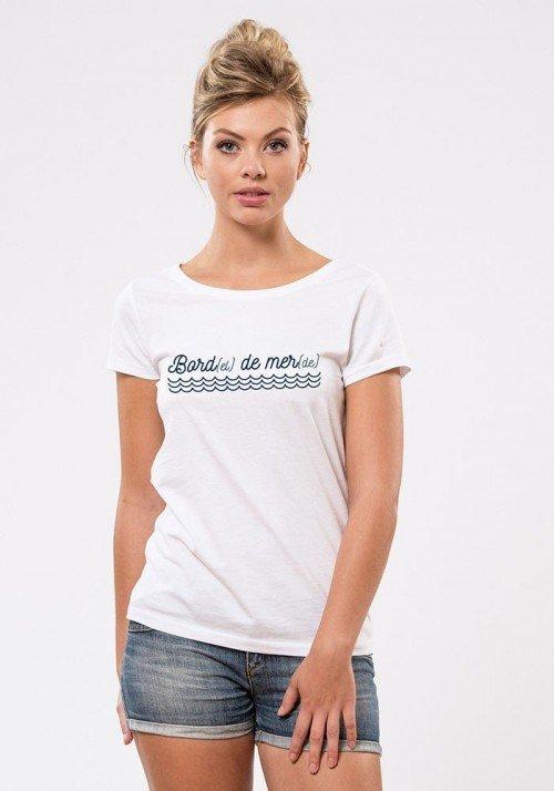 Bord de mer T-shirt Femme