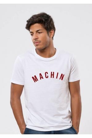 machin T-shirt Homme Col Rond