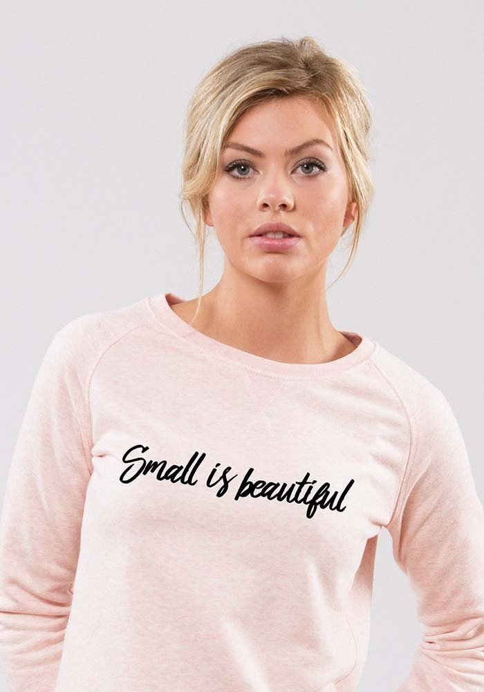 small is beautiful Sweat Femme