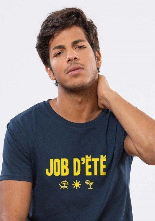Job d' été  T-shirt Homme Navy