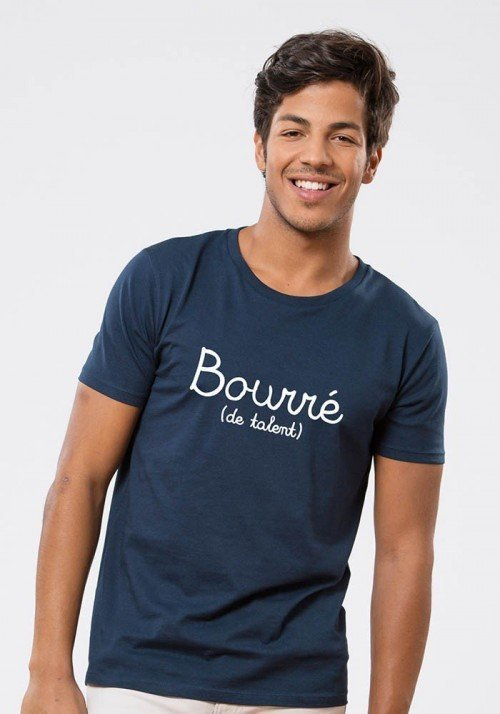 Bourré de talent T-shirt Homme Navy