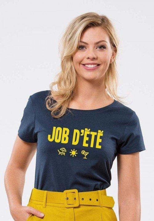 Job d'été T-shirt Femme
