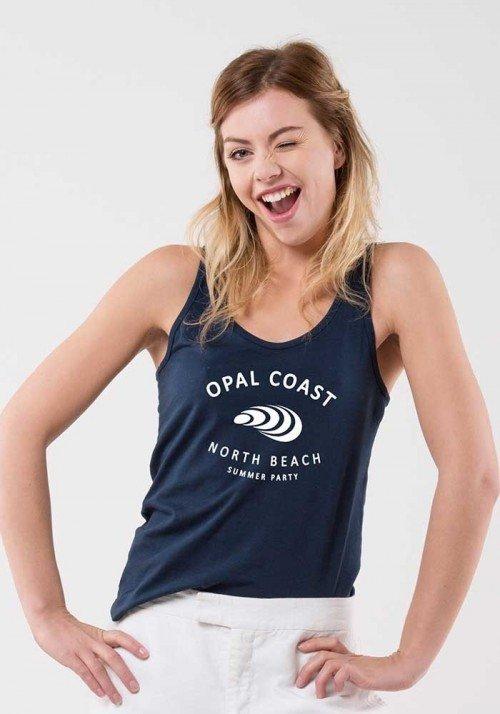 Opal coast Débardeur Femme