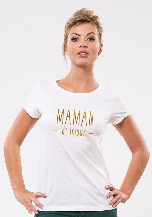 Maman d'amour T-shirt Femme