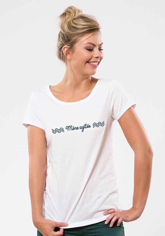 mère agitée T-shirt Femme
