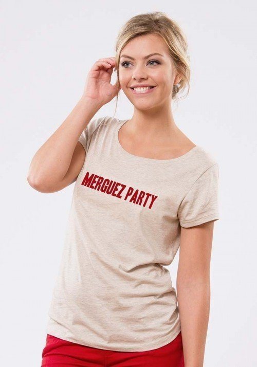 Merguez party T-shirt Femme