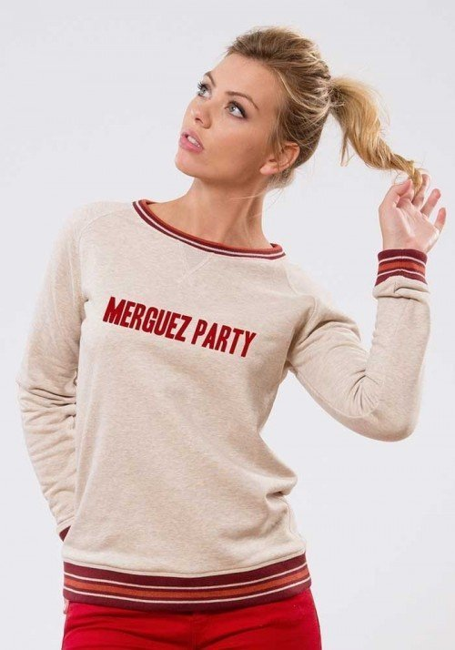 Merguez party Sweat Femme