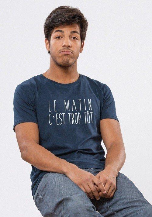 Le matin c'est trop tôt T-shirt Homme
