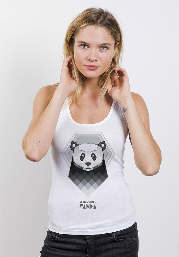 Aqua Panda Débardeur Femme