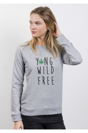 Young Wild Free - Sweat Femme