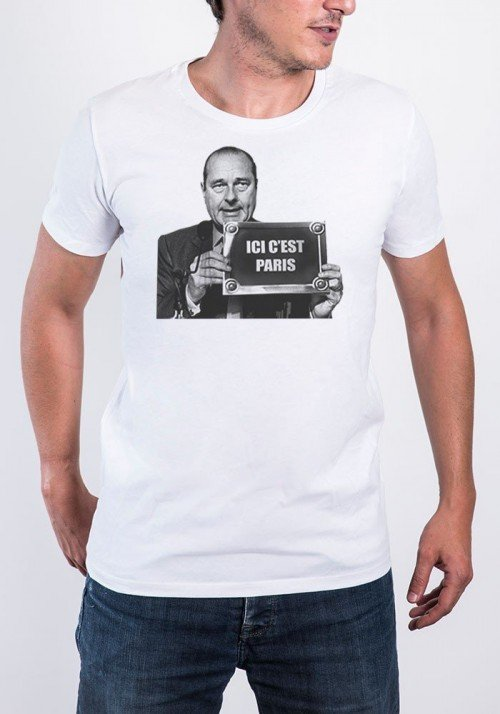 Tshirts Homme Ici c'est Paris