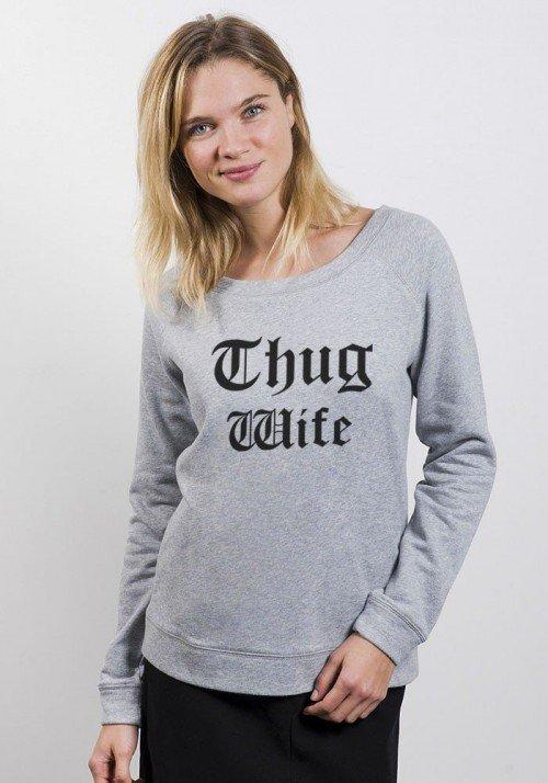 Sweat Femme Thug Wife