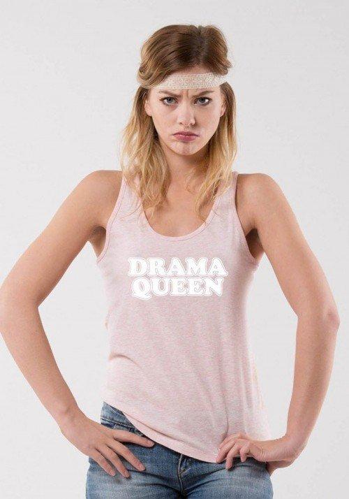 Drama queen Débardeur Femme