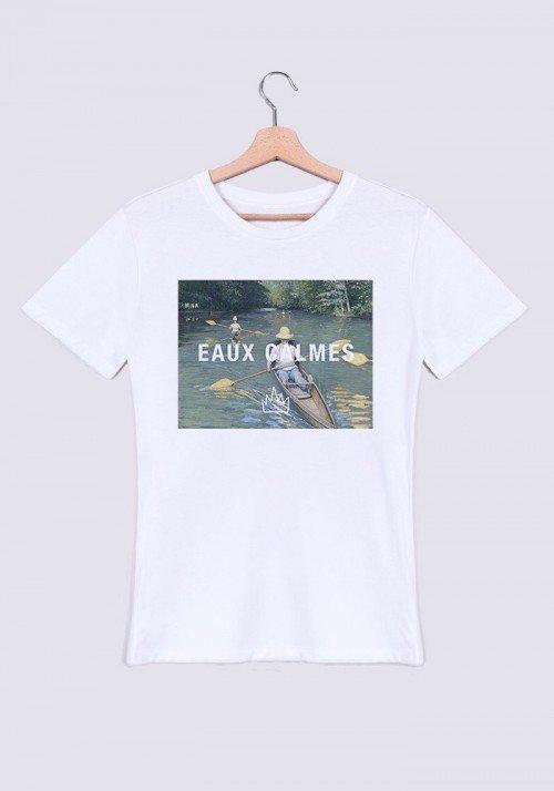Eaux Calmes T-shirt Homme Col Rond
