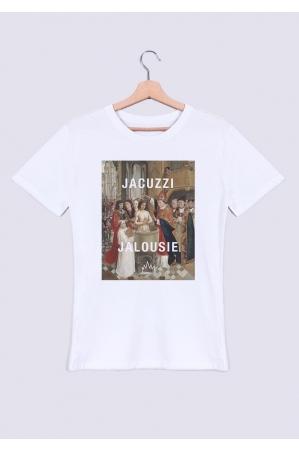 Jacuzzi Jalousie T-shirt Homme Col Rond
