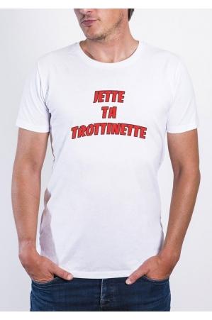 Jette Ta Trottinette T-shirt Homme Col Rond