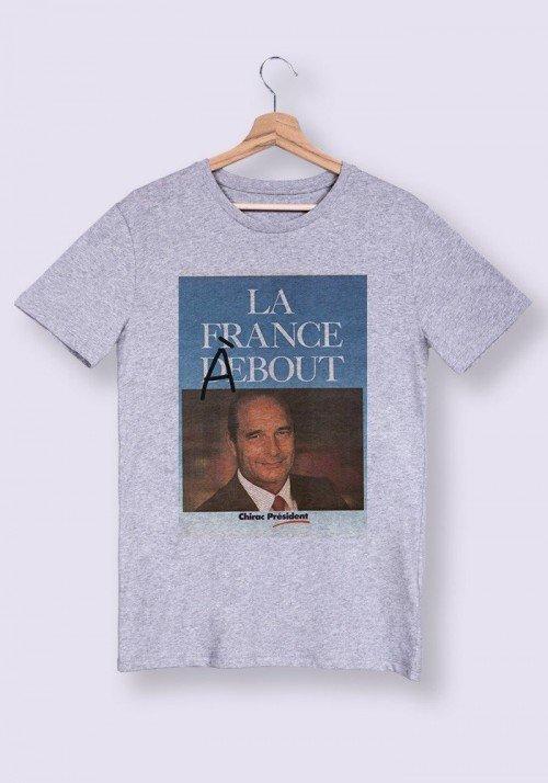 T-shirt Homme col rond La France à Bout
