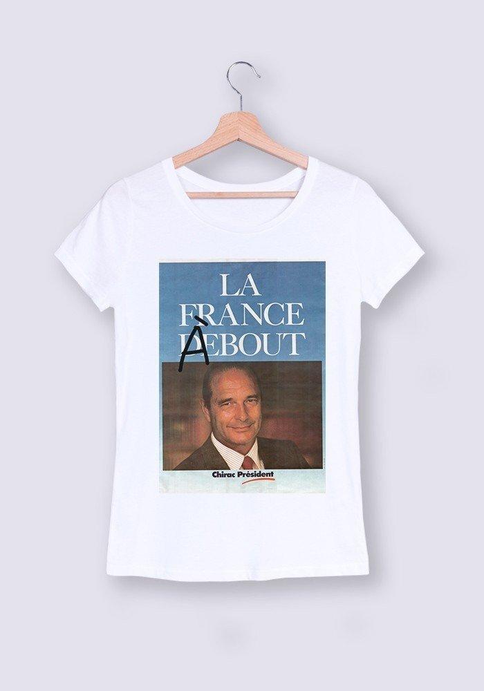 T-shirt Femme col rond La France à Bout