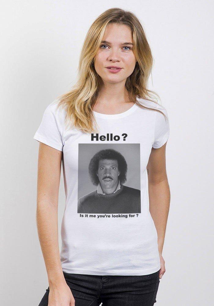 Hello T-shirt Femme