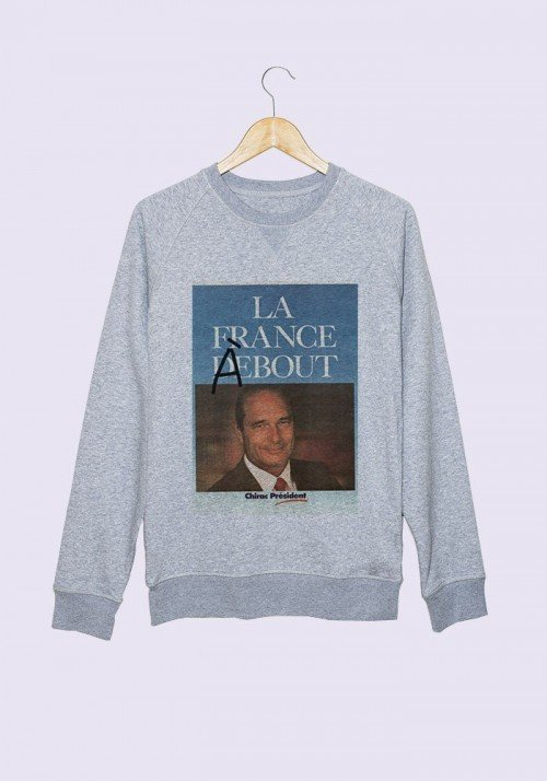 La France à Bout Chirac - Sweat femme