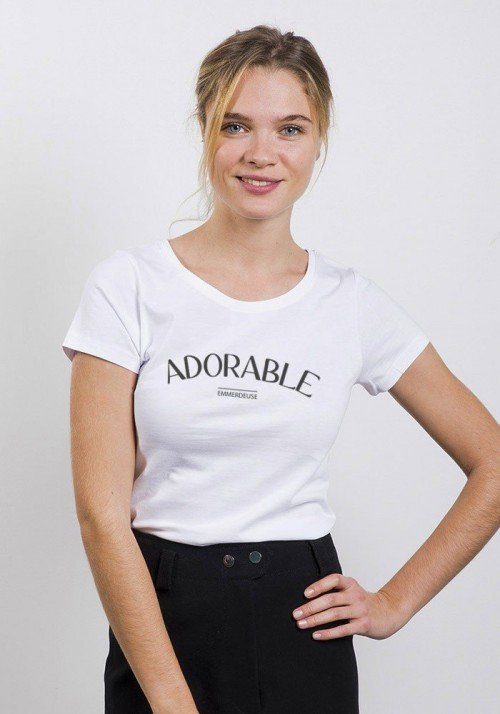 Tshirts Femme Adorable Emmerdeuse