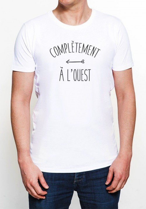 A l'ouest T-shirt Homme Col rond