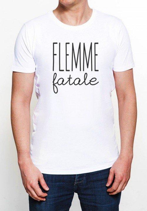 Flemme Fatale T-shirt Homme Col rond
