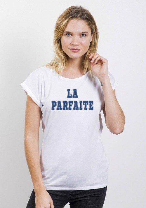 La parfaite T-shirt Femme Manches Retroussées