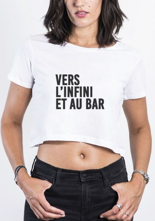 Vers l'infini Crop Top
