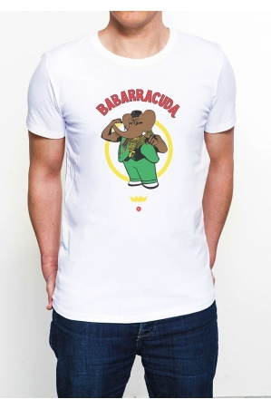 Col Rond  Babarracuda T-shirt Homme Col Rond