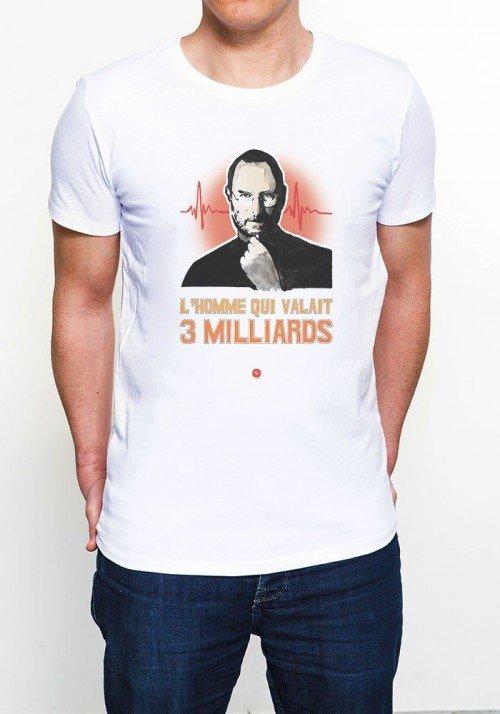 Le Steve T-shirt Homme Col Rond