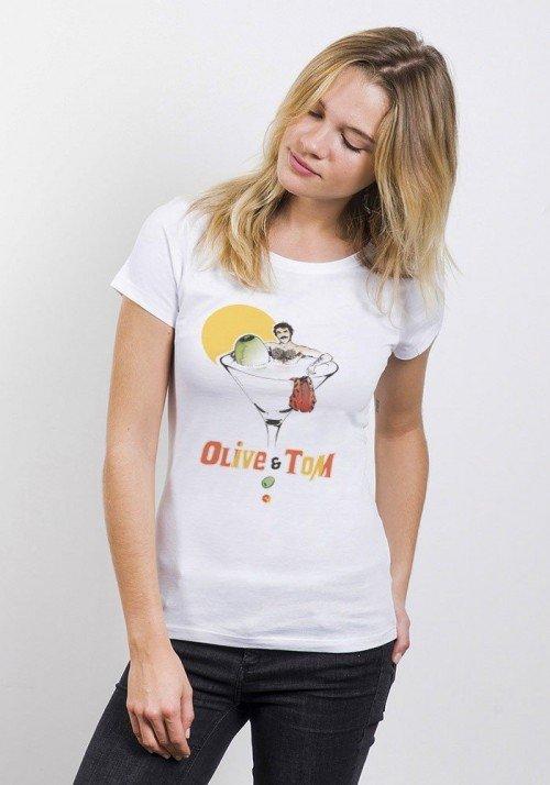 Le Tom T-shirt Femme Col Rond